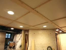 Basement Ceiling Ideas Paint Painted Exposed Basement Ceiling Ideas