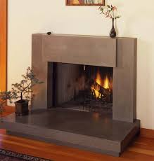 contemporary polished concrete fireplace surround totally want to redo the tile around my fireplace to