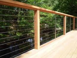 modern cable fence. Beautiful Fence Ultratec Deck Cable Railing  Modern Fencing The Connection Intended Modern Fence