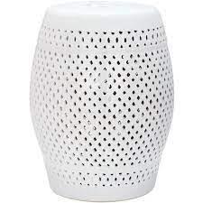 safavieh diamond white ceramic garden
