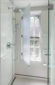 Have your window in the shower and protect it with a