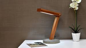 delicate wood lamp base review about convertable diy led desk lamp with concrete base you pictures
