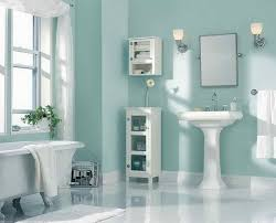 How To Choose Popular Paint Colors For 2014: Paint Color Ideas With Bathroom  Wall Shelves
