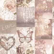 Love Paris Wallpaper Blush Pink ...