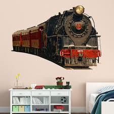 Cool Steam Train Wall Mural Art Quality ...