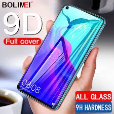 <b>9D Full Cover Tempered</b> Glass On The For Huawei Nova 4 3 3i 3e ...