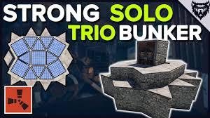 Rust Clan Base Design 2019 Rust Compact Bunker Base Solo Duo Trio Rust Base Design