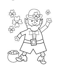 St Patricks Day Coloring Happy St Patricks Day Coloring Page Coloring Page Book