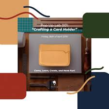 A Collaboration Workshop with Pop Up ... - Voyej Leather Goods