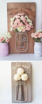Crafts With Mason Jars Best 10 Mason Jar Art Ideas On Pinterest Mason Jar Projects