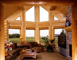 Architectures Modern Home Interior Design For Bedroom With - Log home pictures interior