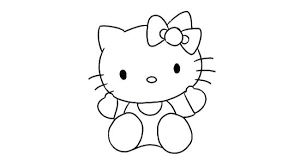 Cute Kitty Drawings Thedileathers Co