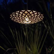 flax natural bamboo lamp designed by david trubridge