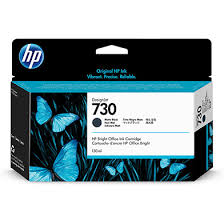 <b>HP</b> P2V65A <b>730 Matte</b> Black <b>DesignJet</b> Ink Cartridge (130ml)