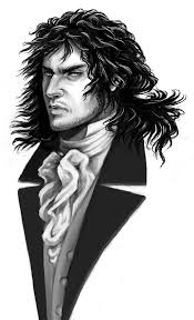 heathcliff i love this artist s rendition of him fictional  voldemort makes the best heathcliff yeah i was listening to wuthering heights on tape and this popped out