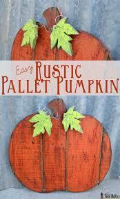 easy rustic pallet pumpkin free printable templates stain paprika rustoleum spray