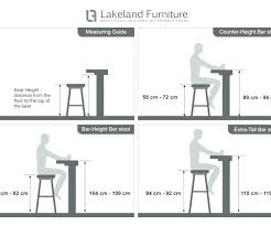 Table Chair Height Chart Counter Vs Bar Height Xyzcollagencream Org