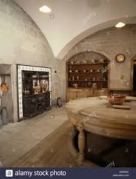 Edwardian Kitchen Large Edwardian Basement Kitchen With Vaulted Ceiling And Circular