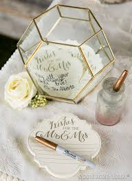 Wedding Guest Book Use A Terrarium To Add Instant Style To Your Guest Book
