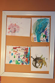 Childrens Artwork Display Displaying Childrens Drawings And Other Artwork See Mommy Doing