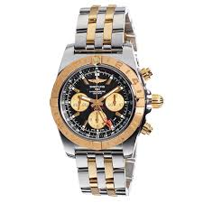 men s watches costco breitling chronomat gold rotating bezel men s automatic watch