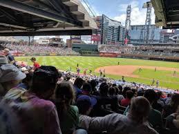 Suntrust Park Section 131 Home Of Atlanta Braves