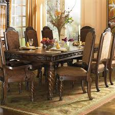 millennium north s rectangular extension table dining chairs item number d553 02a