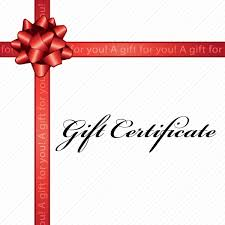 Blu Wasabi Gift Certificate Blu Wasabi