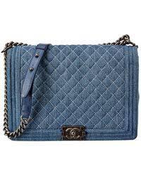 Chanel <b>Boy</b> - <b>Women's</b> Chanel <b>Boy Bags</b> - Lyst