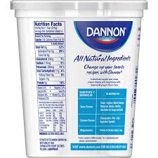 dannon all natural whole milk yogurt plain 32 ounce conner amazon grocery gourmet food