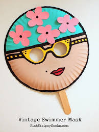 How To Make Face Mask From Chart Paper How To Make Face Mask With Paper Plate Diy Face Mask Gift Ideas