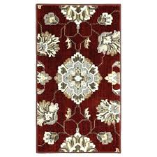 peaceful black and tan area rug red rugs brown