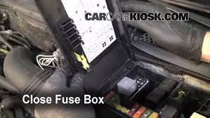 replace a fuse 1990 1994 ford tempo 1993 ford tempo gl 2 3l 4 6 replace cover secure the cover and test component