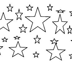 Small Picture Glittering Stars Coloring Pages For Coloring ColoringPagehub