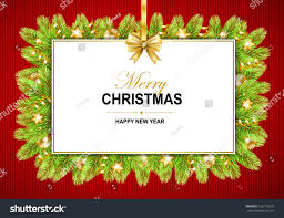 merry happy new year frame stock vector royalty free and