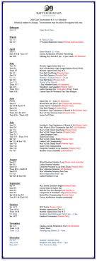 2017 event calendar 2018 event calendar battleground country club
