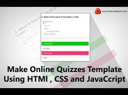Online Quiz Templates online quiz templates node100cvresumepaasprovider 15