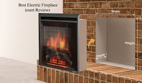 best electric fireplace insert top reviews and guide efficient heaters wireless candles large kettle outdoor heater