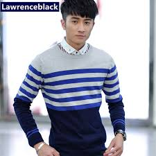 Men's Sweater Patterns Impressive Striped Sweater Man Knitting Patterns Pullover Mens Sweaters Merino