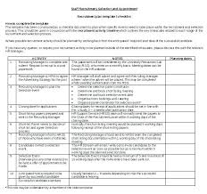 Recruiting Plan Template College Recruitment Plan Template