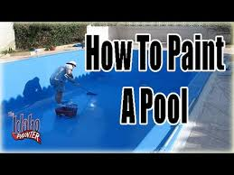 pool paint colorsHow To Paint A Pool Painting Pools With Chlorinated Rubber Pool