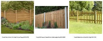here to view our superb range of fence panels