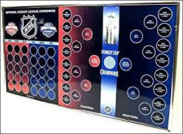 Nhl Logo Magnet Standings Stanley Cup Bracket Board