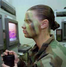 even very dark skin because of its natural oil will reflect light camouflage face paint is used to camouflage the skin when applying camouflage stick