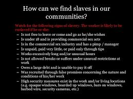 on modern day slavery essay on modern day slavery