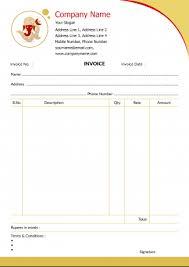 Travels Bill Book Format Bill Book Invoice Designs
