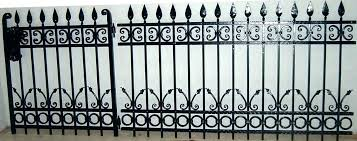 simple wrought iron fence. Iron Fence Designs Wrought Ornamental Custom Buy Product  On Design Software Pictures . Simple G