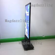 Led Light Box Display Stand 100x100CM Restaurant Outdoor Stand Double Sided LED Display Board 12