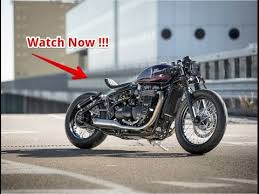 woow triumph bobber hold on go fast youtube