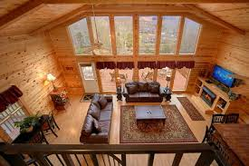 ... Premium 3 Bedroom Cabin With Fireplace   River Breeze ...
